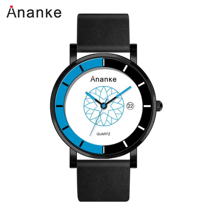 Genuine Leather Colorful Cool Watches