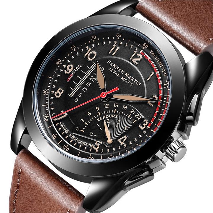 Luxury Sports Mens Leather Watches