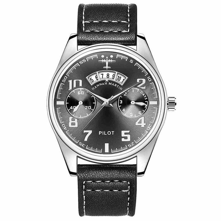 Luxury Pilot Leather Watches