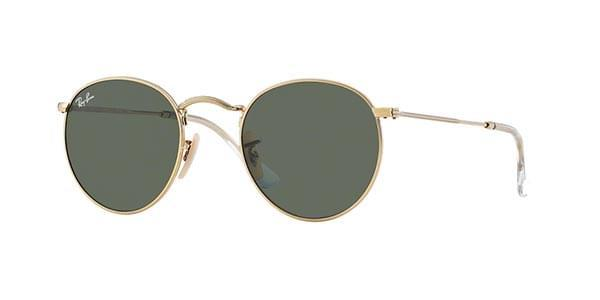 Ray-Ban Sunglasses RB3447 Round Metal 001